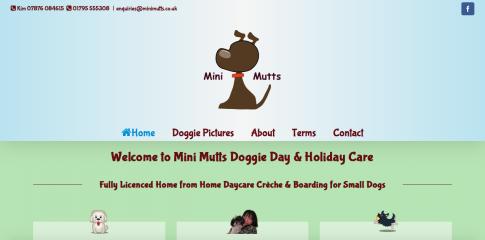 Mini Mutts Website