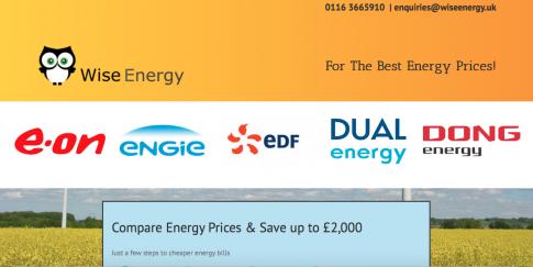 Wise Energy Website